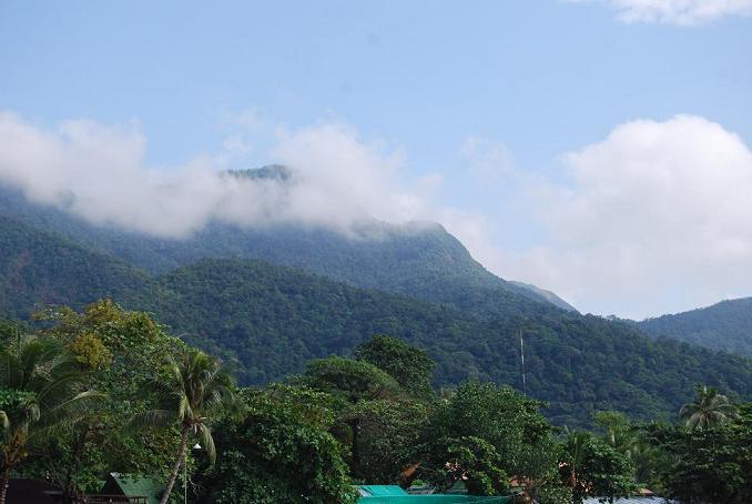Горы на Ко Чанге